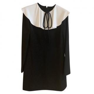 Valentino black mini dress