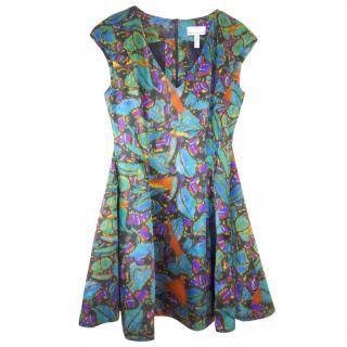 Erdem Watercolour Print Dress