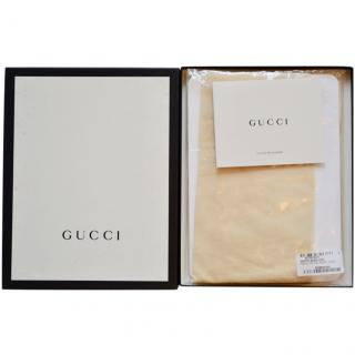 Gucci runway ivory tights