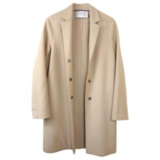 Harris Wharf wool cocoon coat