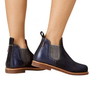 Penelope Chilvers Safari Patchwork Ankle Boots