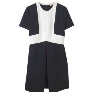 Fendi monochrome A-line dress