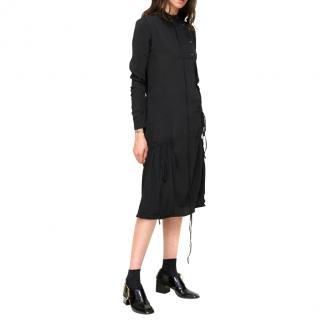 J.W. Anderson Exaggerated-Pocket Midi Dress
