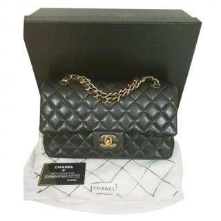 Chanel Timeless double-flap quilted-leather handbag