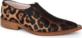 Victoria Beckham leopard-print 'Clown' shoes