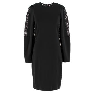 Stella McCartney Black Crochet Dress