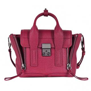 3.1 Phillip Lim Purple Leather Tote Bag