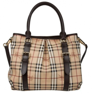 Burberry Haymarket Checked Northfield tote bag