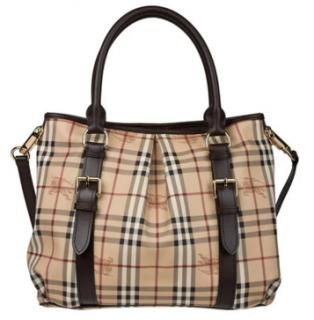 Burberry Haymarket Checked Northfield tote bag