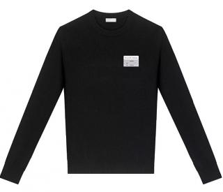 Dior Visitor Patch Wool Sweater
