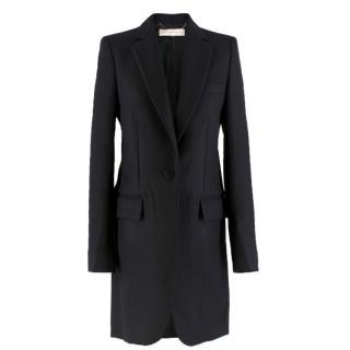 Stella McCartney Black Wool Coat