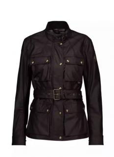 Belstaff Roadmaster Black coated cotton jacket