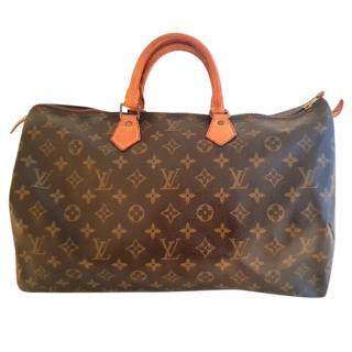 Louis Vuitton Monogram Speedy 40 Travel Bag