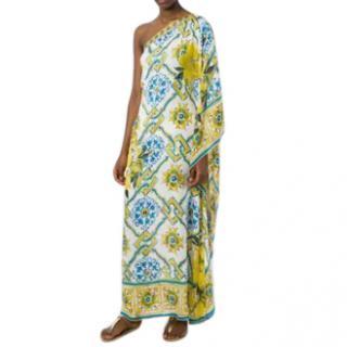Dolce & Gabbana Majolica-print One-shoulder Dress