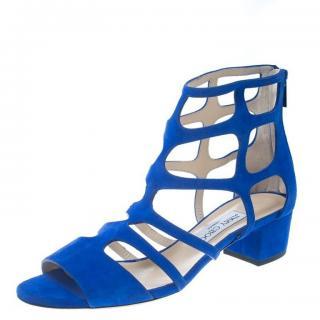 Jimmy Choo Ren flat suede sandals shoes