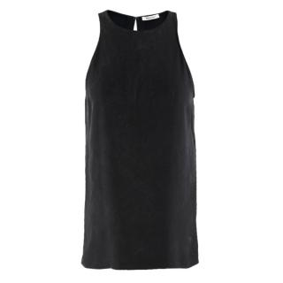 Protagonist Black Silk Tank Top