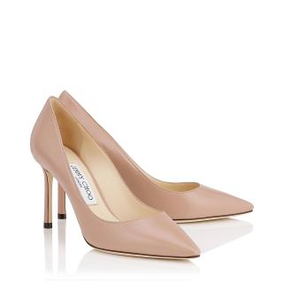 Jimmy Choo Romy 85mm Leather Pumps