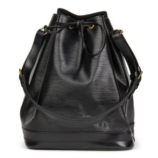 Louis Vuitton Black Epi-Leather Shoulder Bag