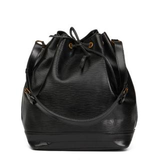 Louis Vuitton Vintage Black Epi Leather  Noe Bag
