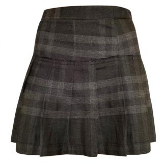 Burberry Brit Wool mini skirt