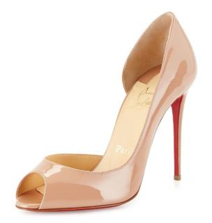 Christian Louboutin Demi You 100mm Patent Leather Pumps