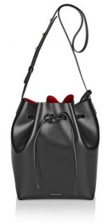 Mansur Gavriel Large Leather Bucket Bag