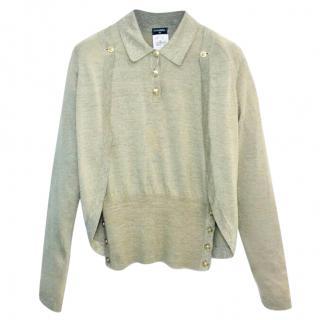 Chanel Fine Knit Cardigan & Jumper Set