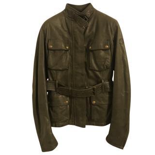 Belstaff Green Triumph Jacket