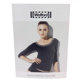 Wolford Glamourama Swarovski Crystal Pullover