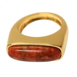 Lizzie Fortunato Organic Coral Ring