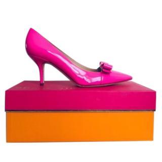 Kate Spade Janira Pink Patent Leather Pumps
