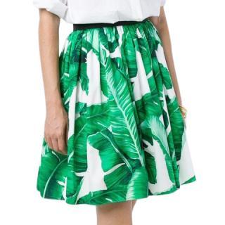Dolce & Gabbana banana leaf skirt