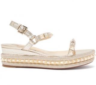 Christian Louboutin Cataclou Platform Sandals shoes