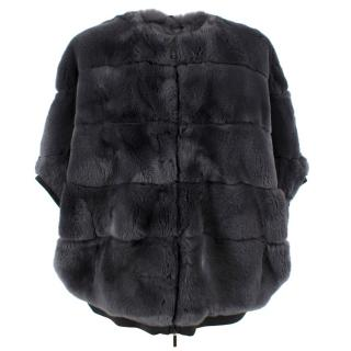 Weekend Max Mara Zigote Rabbit Fur Jacket
