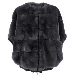Weekend Max Mara Zigote Rabbit Fur Jacket