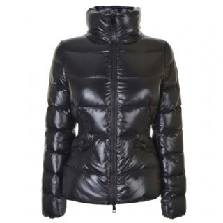 Moncler Black Tapered Down Jacket