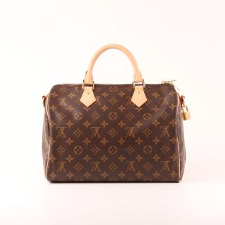 Louis Vuiton Monogram Speedy 30 Bag