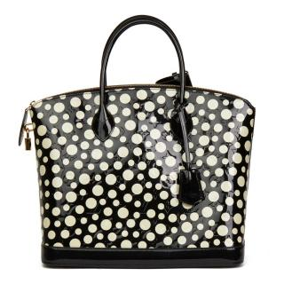 Louis Vuitton Black Dots Infinity Yayoi Kusama Lockit MM