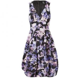 McQ by Alexander McQueen Iris Print Tulip Dress