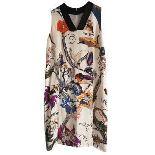 Balenciaga Silk Blend Drop Waisted Dress