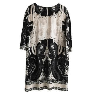 Etro Silk Shift Dress