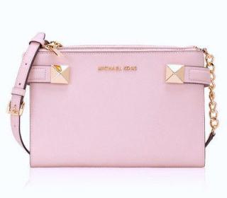 Michael Kors Karla Pink Crossbody Bag