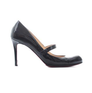 Christian Louboutin 'Charlene' Patent Leather Mary-Jane Pumps