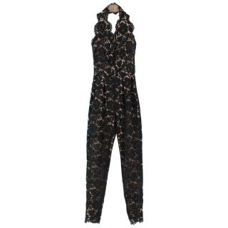 Stella McCartney Lace Halter-Neck Jumpsuit