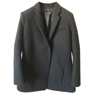 Celine Black Wool Coat