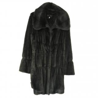 Armani Jeans Faux Fur Coat