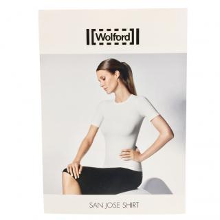 Wolford White Cotton Velvet Light San Jose Shirt
