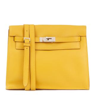 Hermes Jaune d'or Swift Leather Kelly Danse