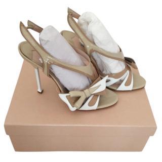 Prada Flame Sandals