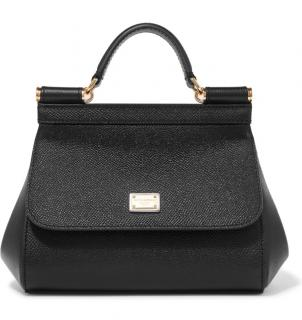 Dolce & Gabbana Sicily leather bag